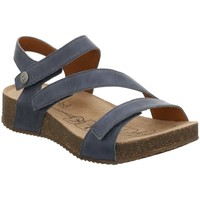 Shoes Women Sandals Josef Seibel Tonga 25 Womens Leather Sandals blue