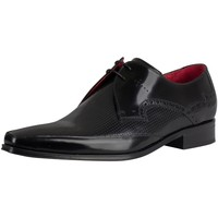Shoes Men Brogues Jeffery-West Polished Leather Shoes black
