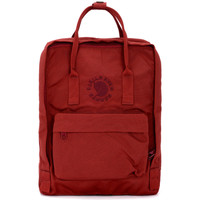 Bags Women Rucksacks Fjallraven Zaino Re-Kånken by   rosso Red