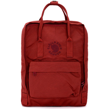 Bags Women Rucksacks Fjallraven Re-Kånken by red backpack Red