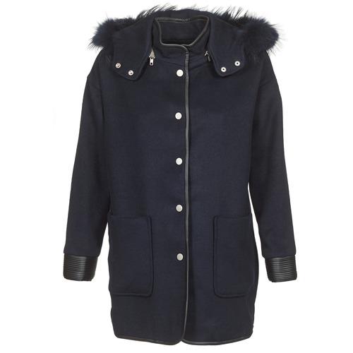 Clothing Women Coats Suncoo ELFIE Marine