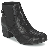 Shoes Women Ankle boots SPM GIRAFE Black