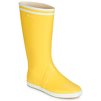 Shoes Men Wellington boots Aigle GOELAND Yellow