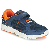 Shoes Boy Low top trainers Geox FLEXYPER Navy