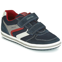 Shoes Boy Low top trainers Geox VITA Navy