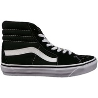 Shoes Women Hi top trainers Vans UA SK8 Hi black