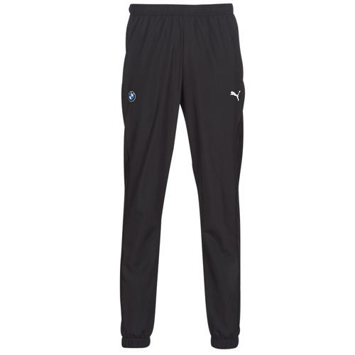 Clothing Men Tracksuit bottoms Puma BMW MMS WOVEN PANTS Black