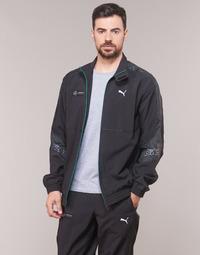 Clothing Men Track tops Puma MAPM STREET WOVEN JACKET MERCEDES Black