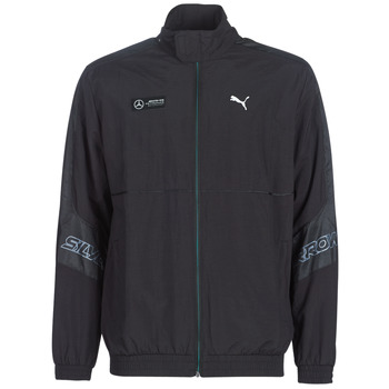 Clothing Men Track tops Puma MAPM STREET WOVEN JACKET MERCEDES Black