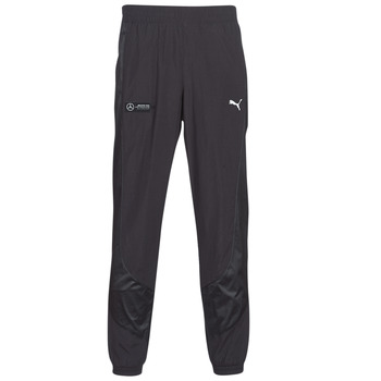 Clothing Men Tracksuit bottoms Puma MAPM STREET WOVEN PANTS MERCEDES Black