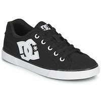Shoes Women Low top trainers DC Shoes CHELSEA TX Black / White