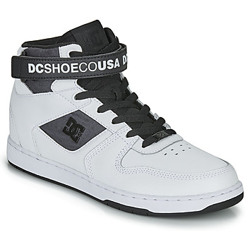 Shoes Men Hi top trainers DC Shoes PENSFORD SE White / Black
