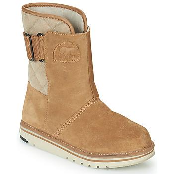 Shoes Women Mid boots Sorel NEWBIE Honey