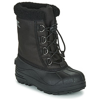 Shoes Children Snow boots Sorel YOUTH CUMBERLAND Black