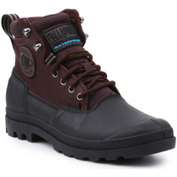 Shoes Men Mid boots Palladium Sport Cuff WP 2.0 75567-222-M brown, black