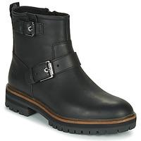Shoes Women Mid boots Timberland LONDON SQUARE BIKER Black