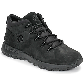 Shoes Men Mid boots Timberland EURO SPRINT TREKKER Black