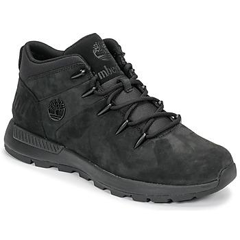 Shoes Men Mid boots Timberland EURO SPRINT TREKKER Black