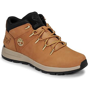 Shoes Men Mid boots Timberland EURO SPRINT TREKKER Wheat