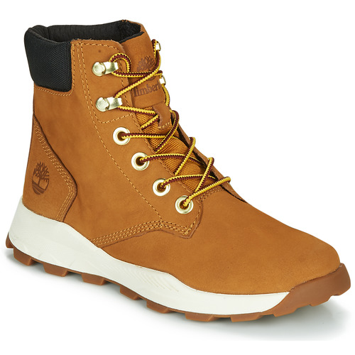 Shoes Children Hi top trainers Timberland BROOKLYN SNEAKER BOOT Brown