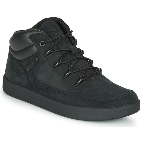 Shoes Children Hi top trainers Timberland DAVIS SQUARE TDEUROSPRINT Black