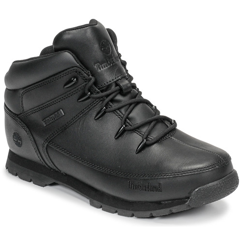 Shoes Children Mid boots Timberland EURO SPRINT Black