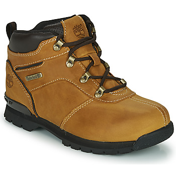 Shoes Children Mid boots Timberland SPLITROCK 2 Wheat