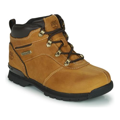 Shoes Children Mid boots Timberland SPLITROCK 2 Brown