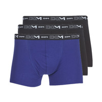 Underwear Men Boxer shorts DIM COTON STRETCH X3 Black / Blue