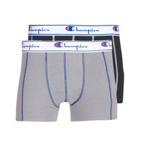 Underwear Men Boxer shorts Champion UNI X2 Black / Grey