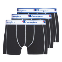 Underwear Men Boxer shorts Champion UNI X3 Black