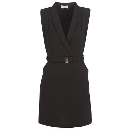 Clothing Women Short Dresses Moony Mood KOAL Black
