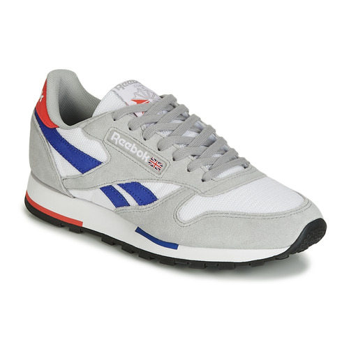 Shoes Low top trainers Reebok Classic CL LEATHER MU Grey / Blue