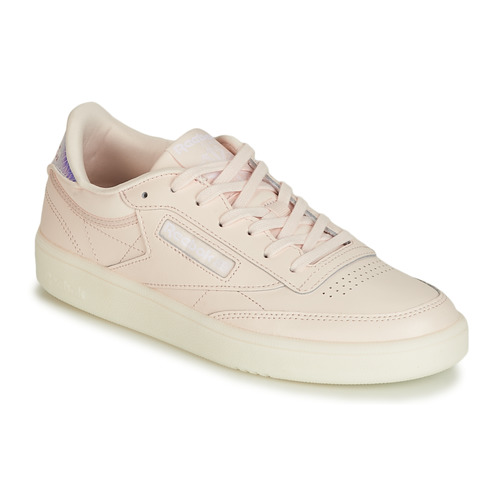 Shoes Women Low top trainers Reebok Classic CLUB C 85 Pink / Nude