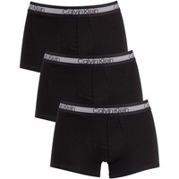 Underwear Men Boxer shorts Calvin Klein Jeans 3 Pack Cooling Trunks black