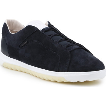 Shoes Men Low top trainers Geox U Nexside A-Suede U927GA-00022-C4002 black