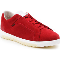 Shoes Men Low top trainers Geox U Nexside A-Suede U927GA-00022-C7000 red