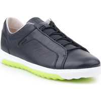 Shoes Men Low top trainers Geox U Nexside A-Nappa U927GA-00085-C4002 navy