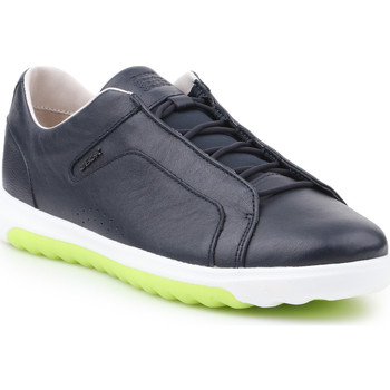 Shoes Men Low top trainers Geox U Nexside A-Nappa U927GA-00085-C4002 granatowy