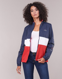 Clothing Women Jackets / Blazers Fila WOMEN BRENDA SELL JACKET Marine / Red / White