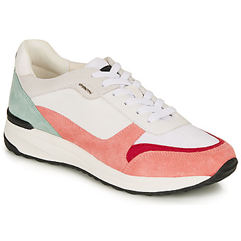 Shoes Women Low top trainers Geox AIRELL White