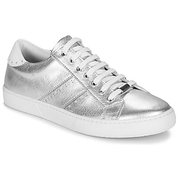Shoes Women Low top trainers André BERKELEY Silver