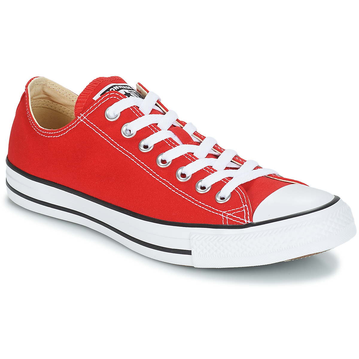 converse all star core ox red free delivery with spartoo. Black Bedroom Furniture Sets. Home Design Ideas