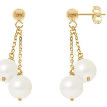 Watches Women Earrings Blue Pearls BPS K392 W Multicolored