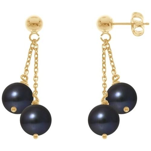 Watches & Jewellery  Women Earrings Blue Pearls BPS K393 W Multicolored