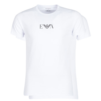 Clothing Men Short-sleeved t-shirts Emporio Armani CC715-111267-04712 White