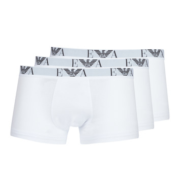 Clothing Men Boxer shorts Emporio Armani CC715-111357-16512 White
