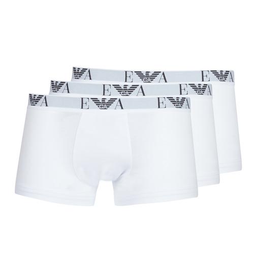 Underwear Men Boxer shorts Emporio Armani CC715-PACK DE 3 White