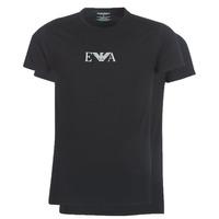 Clothing Men Short-sleeved t-shirts Emporio Armani CC715-111267-07320 Black