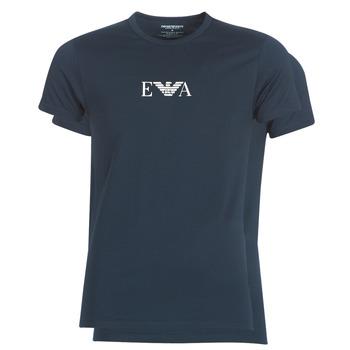 Clothing Men short-sleeved t-shirts Emporio Armani CC715-111267-27435 Marine